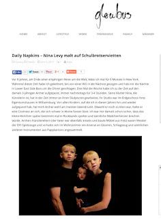 http://www.glowbus.de/daily-napkins-nina-levy-malt-auf-schulbrotservietten/