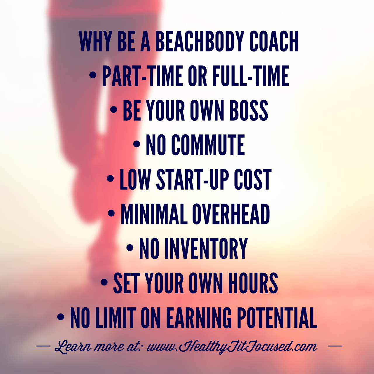 Why Be a Beachbody Coach?  Beachbody Coaching, Helping coaches become successful!  I'm looking for 5 highly motivated people ready to earn a significant income by helping others. www.HealthyFitFocused.com