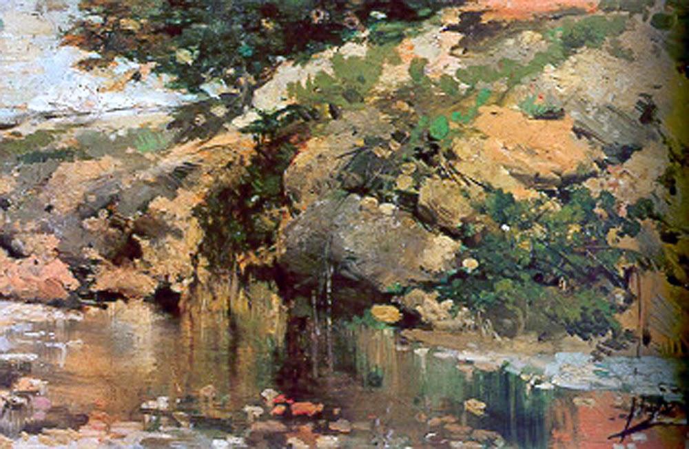 Algar de Palancia, Joaquín Sorolla Bastida, Impresionismo Valenciano, Pintura Valenciana