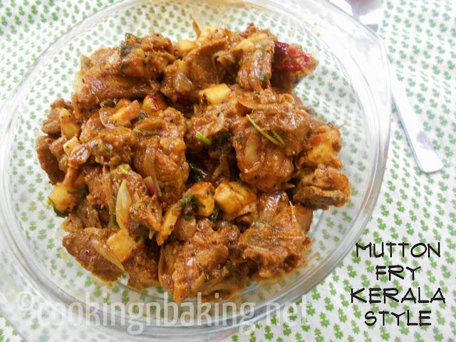 Mutton Fry Kerala Style