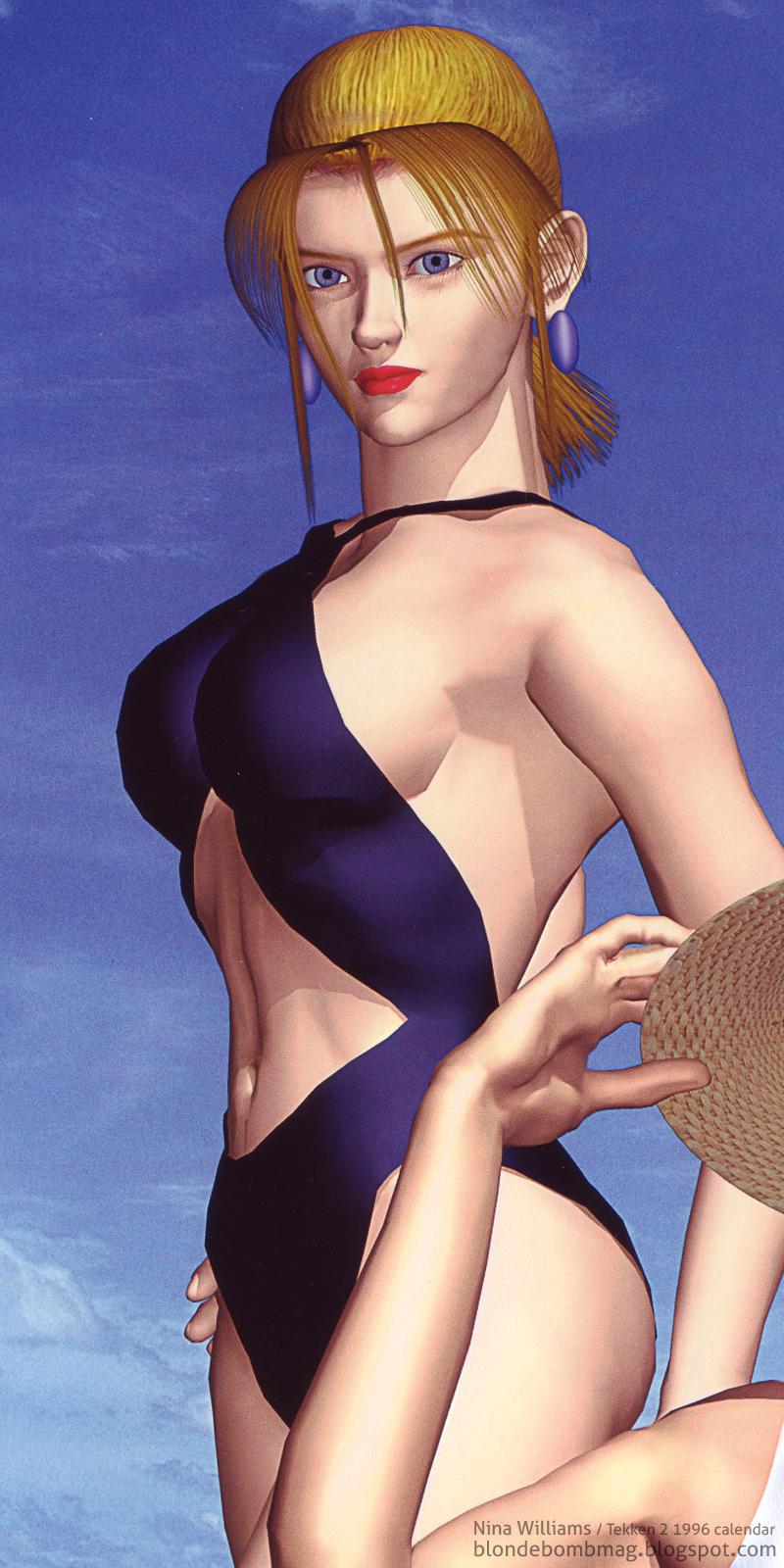 Tekken Nina swimsuit bikini