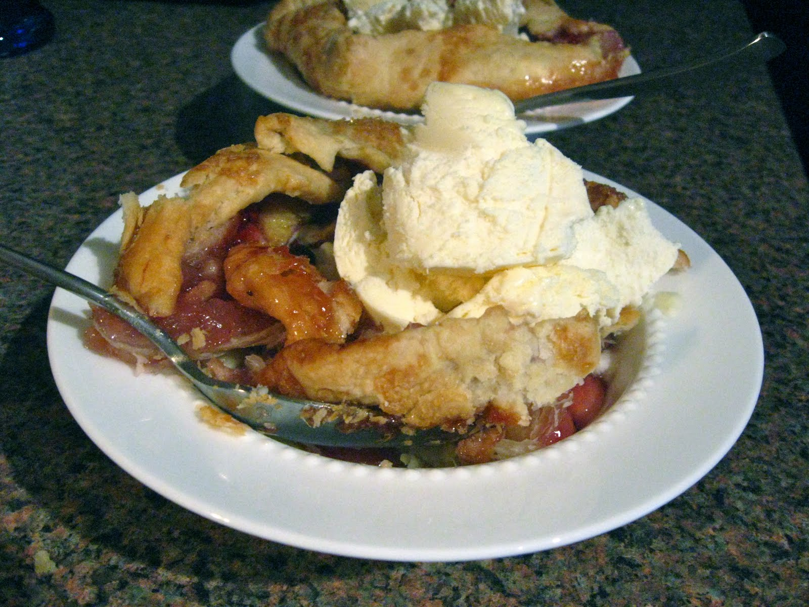 Boston Sweetie: Strawberry Banana Galette