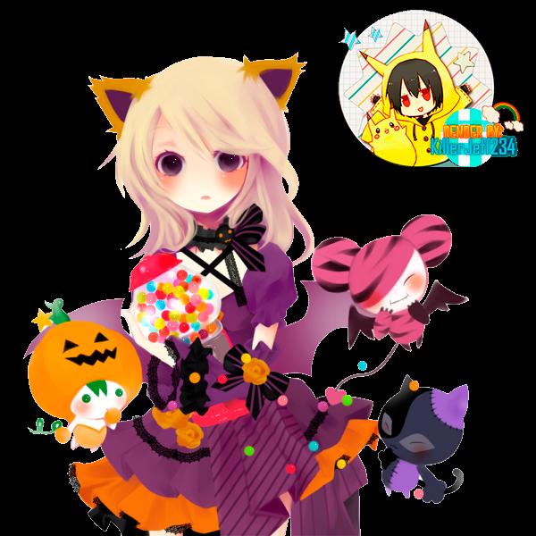 [ Pngs ] Renders Halloween