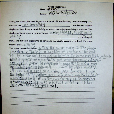 Writing a research paper elementary school