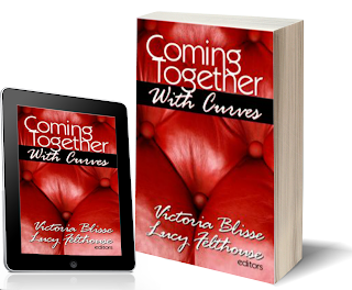 coming together with curves charity anthology including story by Joanne kenric