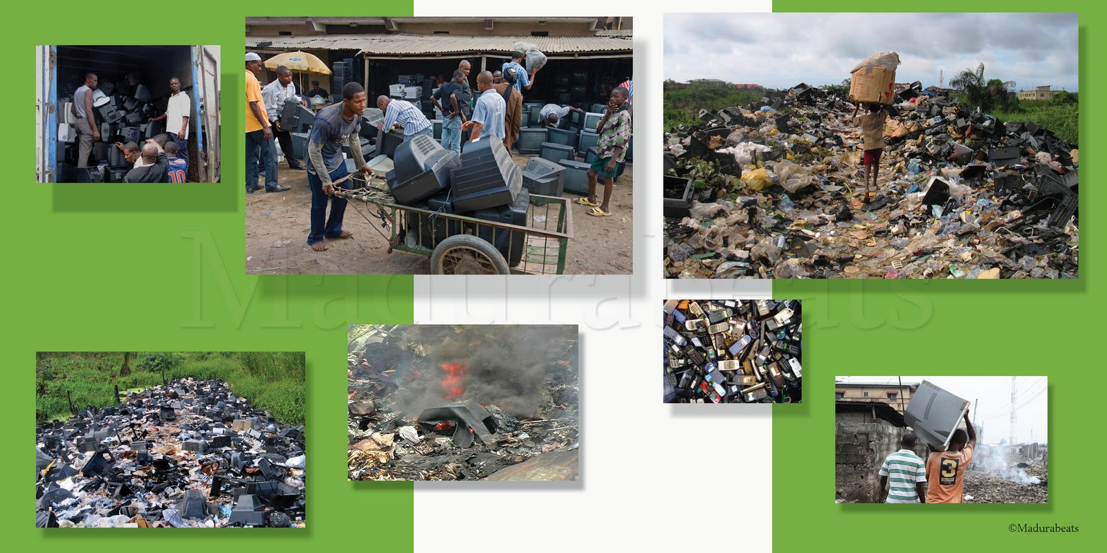 Where our Used  Monitors goes-E-waste-Nigeria
