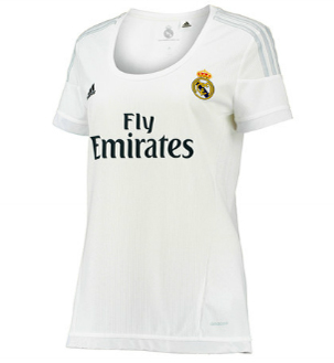 camiseta Real Madrid mujer 2015 2016