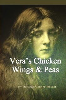 http://www.lulu.com/shop/deborah-conner-mascot/veras-chicken-wings-and-peas/hardcover/product-21756789.html