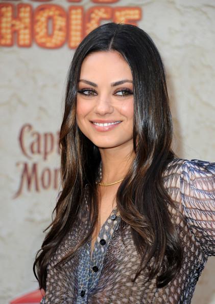 Mila Kunis 2012 hairstyles