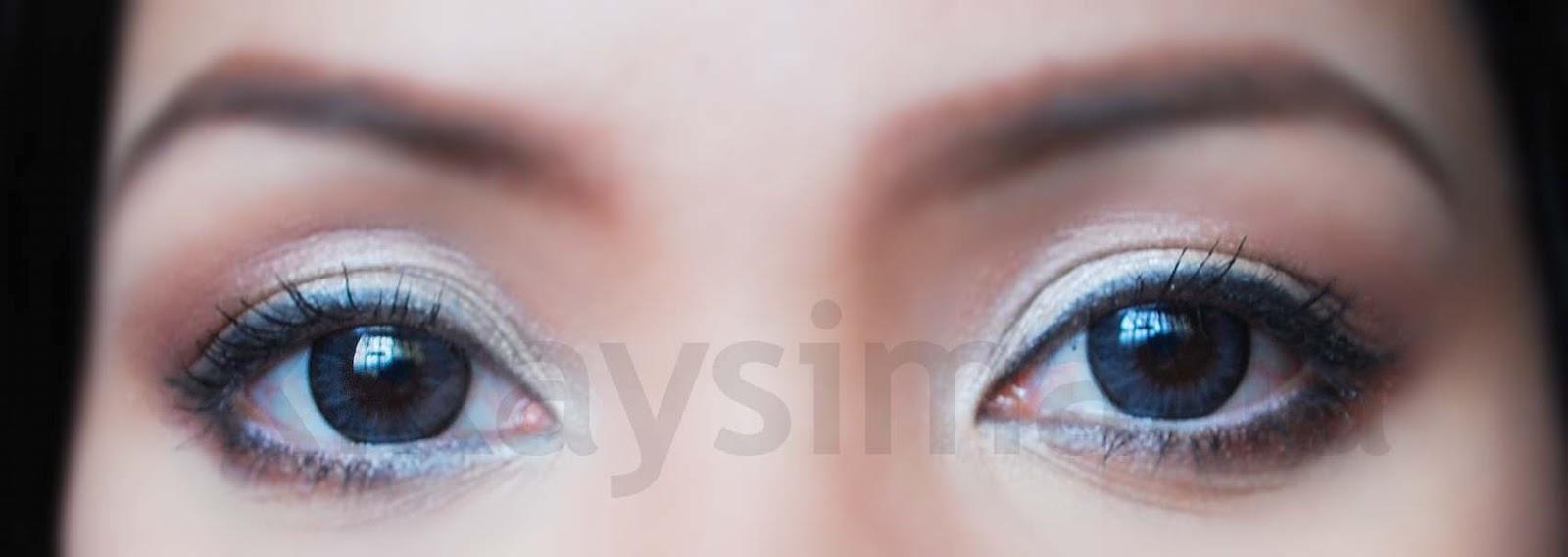 KIKAYSIMARIA: GEO: Bella 205 (Gray) Circle Lenses