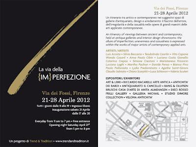 EXPO 'La via della {IM}PERFEZIONE' - Firenze (IT) - 21-28 Avril 2012 dans Agathe SAINT-GIRONS (FR) locandina%2Bweb