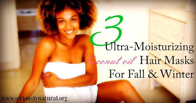 3 Ultra-Moisturizing Coconut Oil Hair Masks For Fall & Winter