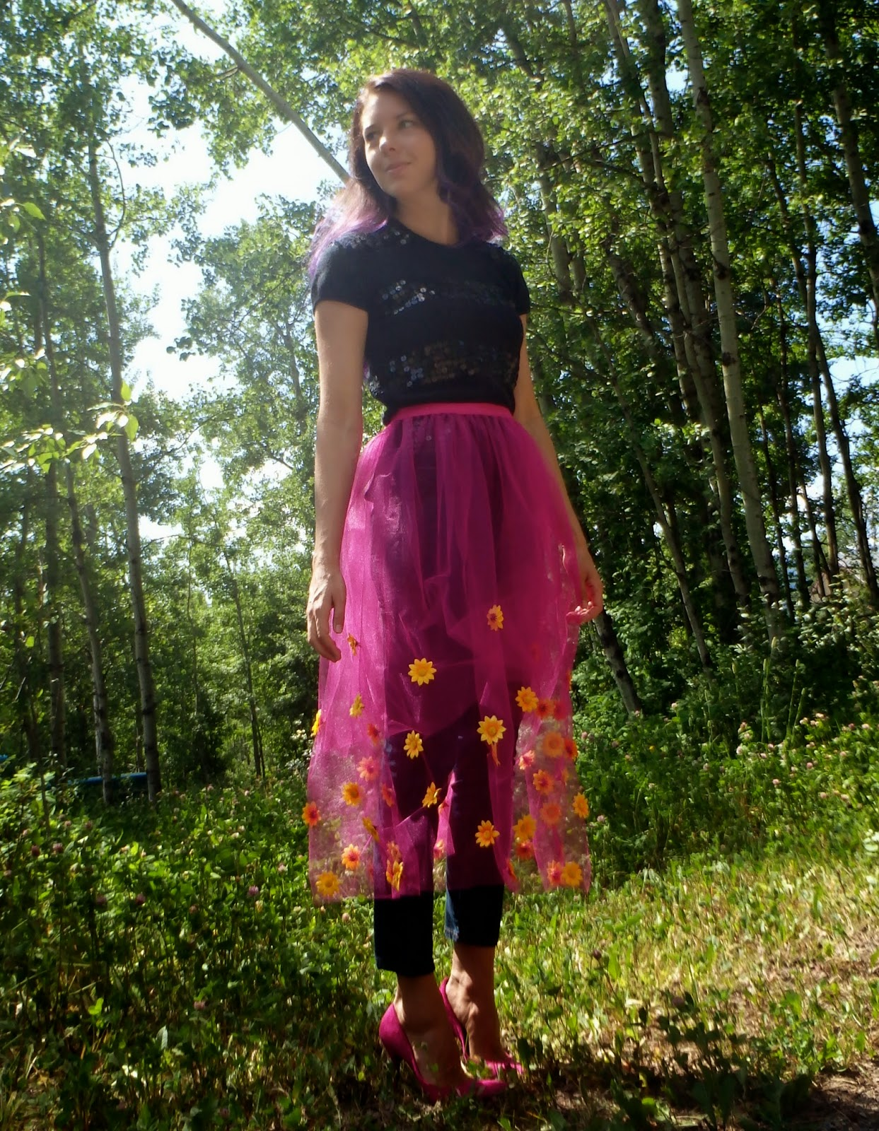 DIY Skirt, Tulle Skirt