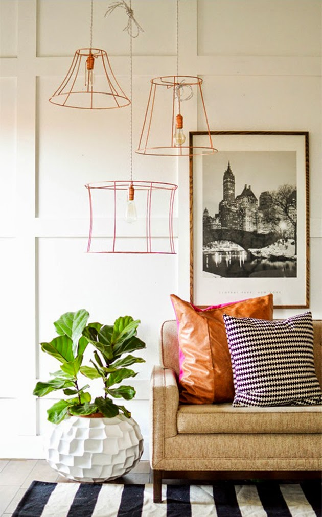 decoración-cobre-copper-ideas-diy