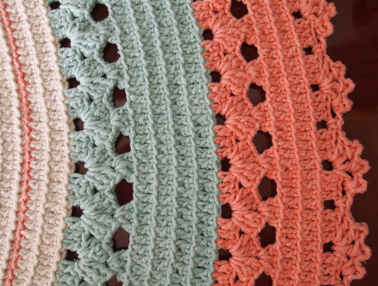 os croches da elsa tapete redondo