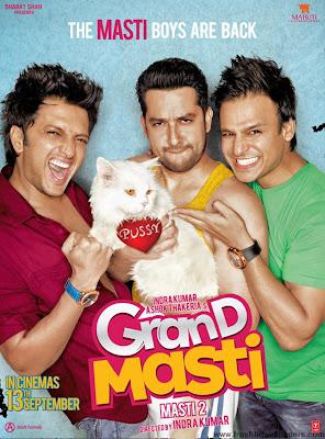 Grand Masti 2013 - Poster
