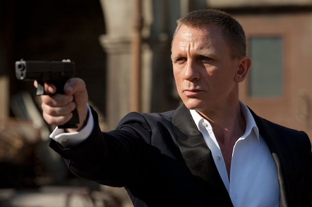 "Daniel Craig as James Bond, Agent 007, in ""Skyfall"""