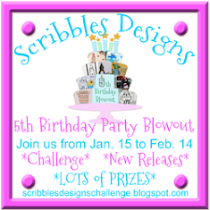 Scribbles Designs 5th Birthday Bash