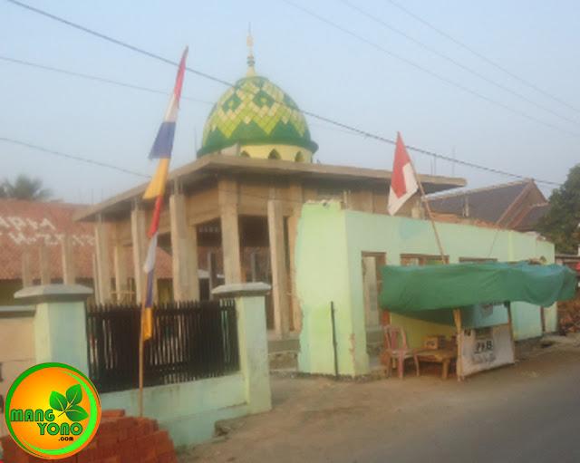 Mohon Sumbangan Pembangunan Masjid Assyafa'ah, Pagaden Barat, Subang