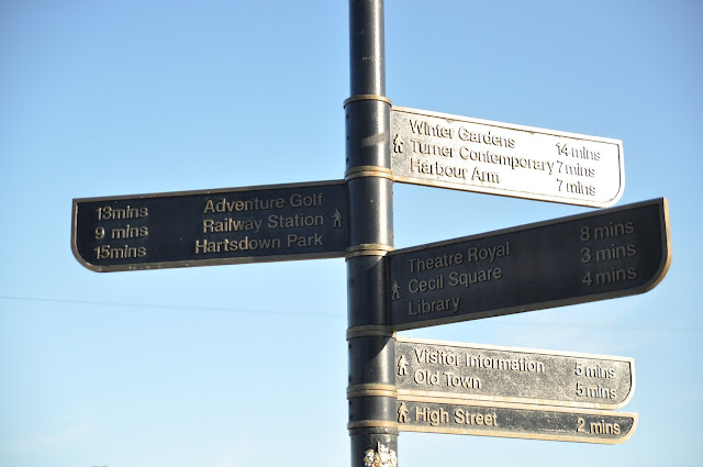 Margate signboard