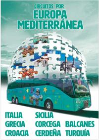 Circuitos Europamundo por Europa Mediterránea 2015