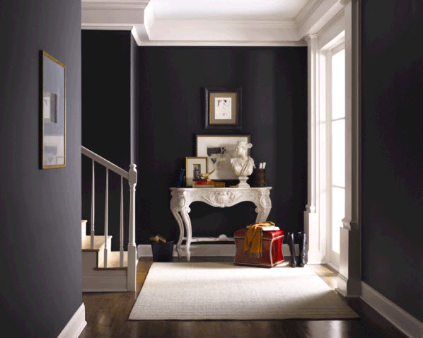 Driven By Décor: Black and Charcoal Gray Paint Colors for Our Home ...
