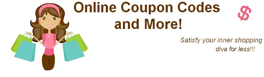 Online Coupon Codes and Online Deals