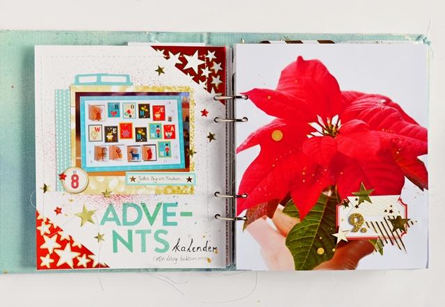 december journal spread