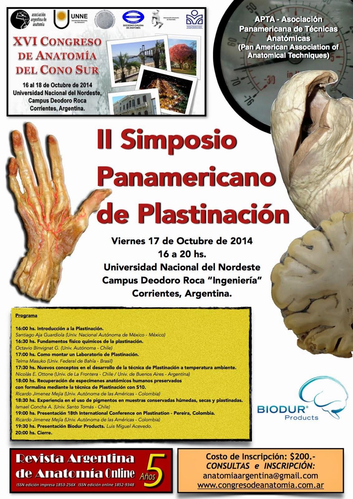 II Simposio Panamericano de Plastinación
