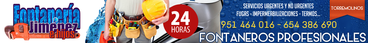 PRESUPUESTO GRATIS - 654 386 690 - Fontaneros en Torremolinos