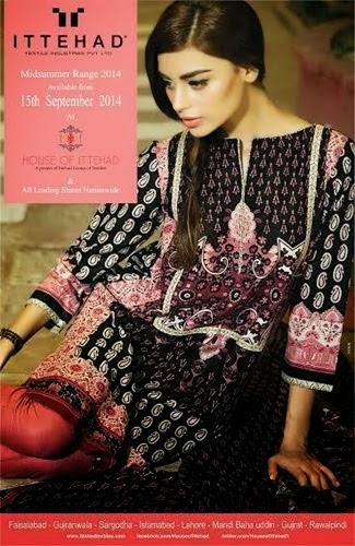 Ittehad Midsummer Cotton Dresses