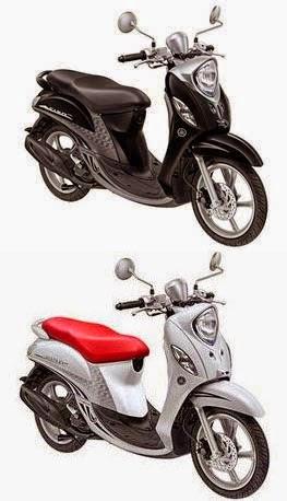 pilihan warna Yamaha Fino 2015