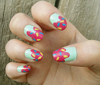 Latest Ice Cream Nails Designs 2012