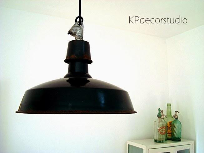 Kp tienda vintage online l mpara de techo industrial for Donde comprar ruedas estilo industrial