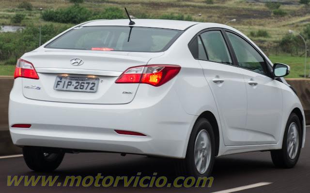 Hyundai HB20 Sedan - traseira
