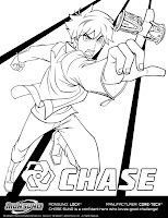 Chase Suno Coloring Sheet
