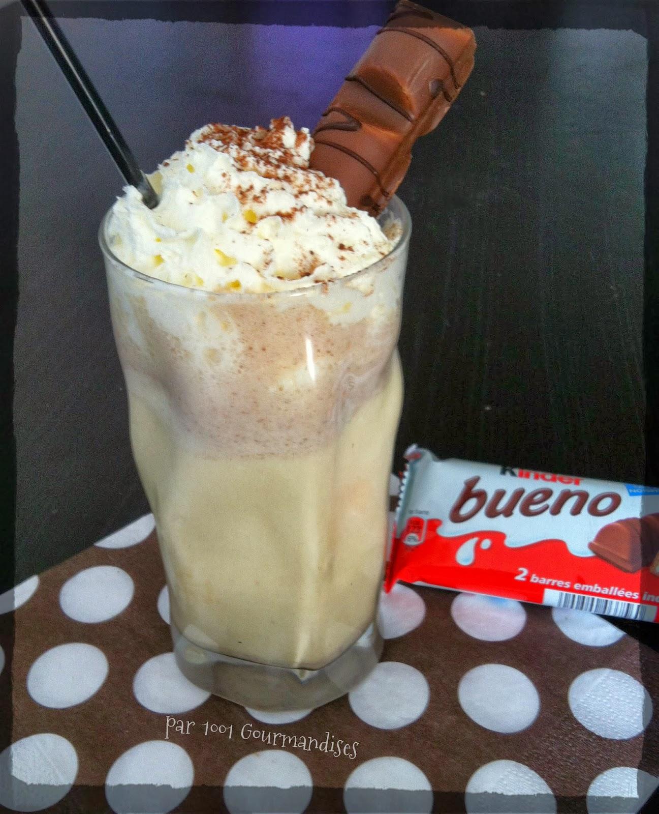 Populaire 1001 Gourmandises: Milk-shake kinder bueno MZ92