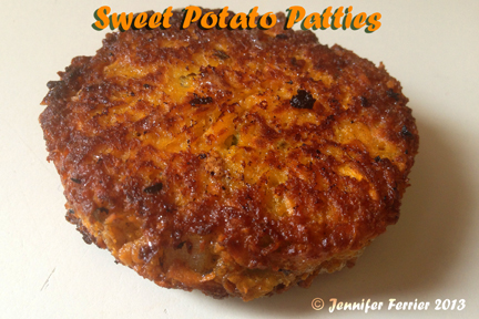 It's So Much Better Homemade: Sweet Potato Patties