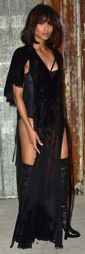 Ciara's outfit to Givenchy show (photos) 2C34558600000578-3231686-image-m-116_1442037641931