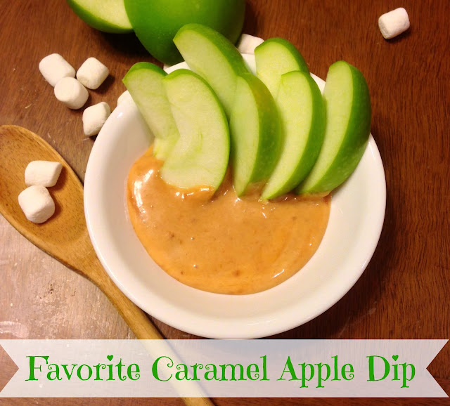Favorite caramel apple dip