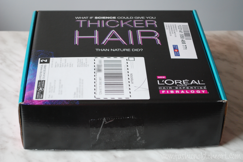 l'oreal fibralogy shampoo booster conditioner hair haircare influenster volume review