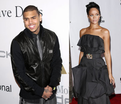 Rihanna And Chris Brown Following