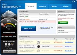 تحميل برابط تنزيل مباشر برنامج تسريع الجهاز الكمبيوتر والانترنت Download SpeedUpMyPC