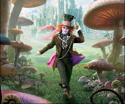 mad hatter, mad hatter tim burton, alice in wonderland