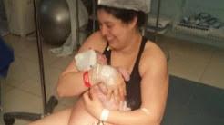 Giovanna nasceu em um intenso parto humanizado no dia 18/08...