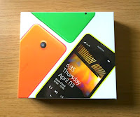 Morgan's Milieu | Choosing a Mobile Phone for Your Child: Box for the Nokia Lumia 635