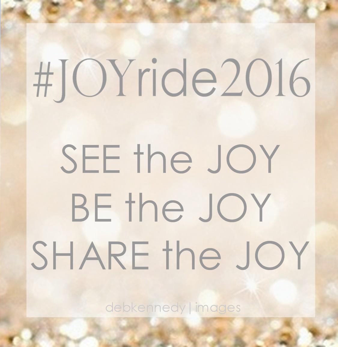 #Joy Ride 2016