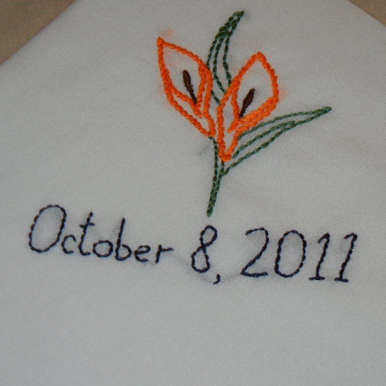 M Broidery Hand Embroidered Flowers