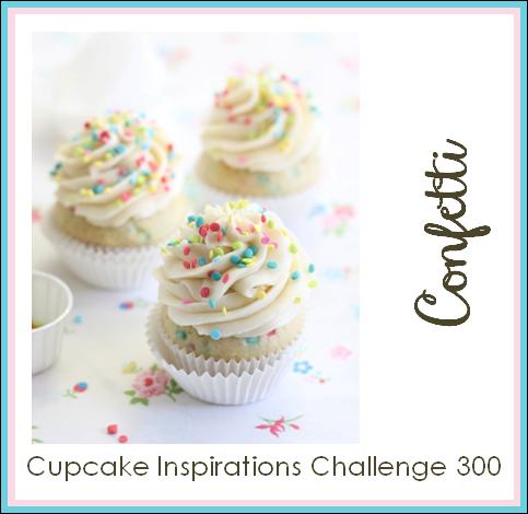 Cupcake Inspirations Challenge - Confetti