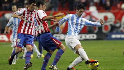 Sporting Gijon 2 - 1 Malaga (3)